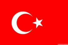 TURKEY - 8 X 5 FLAG